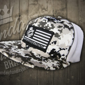 DIGITAL CAMO OLIVE SNAP BACK