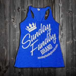 navy blue tank front